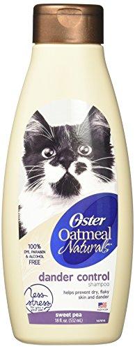 Oster Oatmeal Naturals Dander Control Cat Shampoo, Sweet Pea, 18 Fluid...