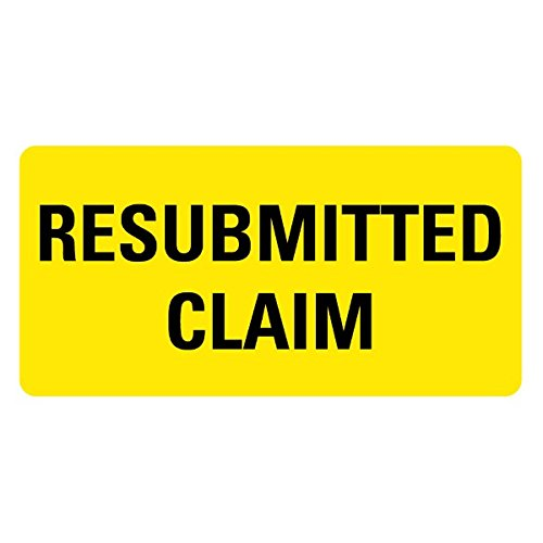 RESUBMITTED CLAIM Medical Records Labels LV-MRL20