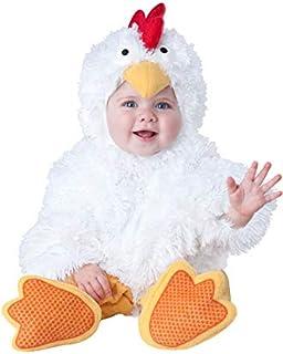 Incharacter Costumes Disfraz de gallina para bebé 6-12