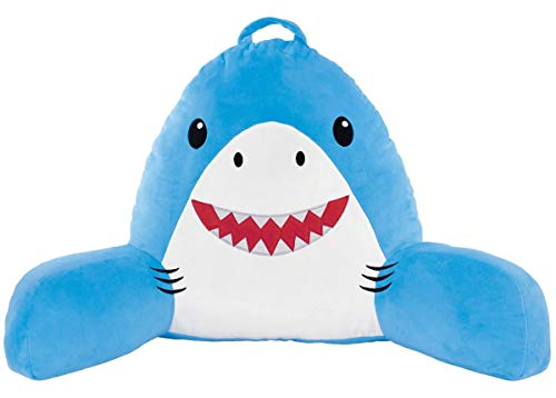 Shark Themed Reading Bed and Support Pillow