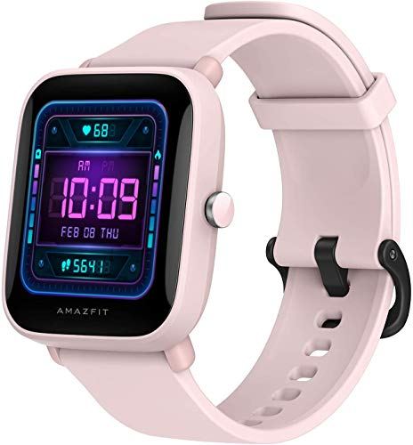 """Amazfit Bip U Pro Smart Watch Reloj Inteligente con GPS Incorporado 60+ Modos Deportivos 5 ATM Fitness Tracker Oxígeno Sangre Frecuencia cardíaca Monitor de sueño y estrés 1.43 """"Pantalla táctil"""