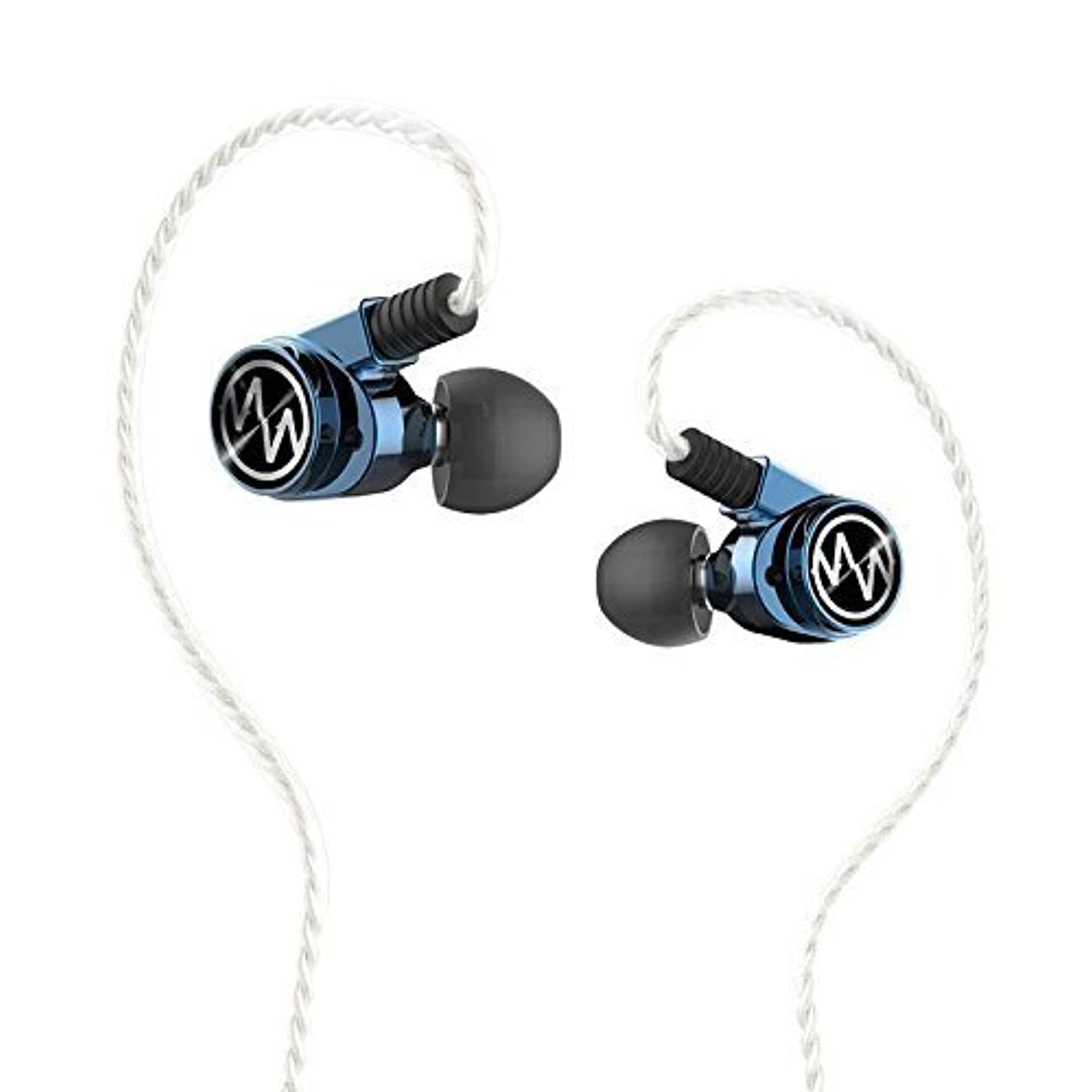 Dilvpoetry Macaw GT600S pro in-ear Earphones dual dynamic balanced armature hybrid MMCX HIFI earphone with 3 Pairs of filters
