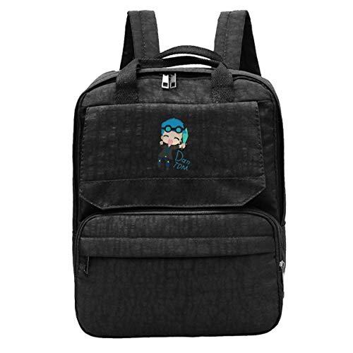Shoulder Bag Dan-TDM Anime Gift Gym Print College Notebook Bag Shoulder Bag Laptop Student Hiking Durable Daypack College School Bag Lightweight Casual School Teens Book Backpack