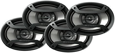 Pioneer TS-695P 6x9 3 Way Car Speakers - 2 Pair - 4 Single Speakers Package TS695P
