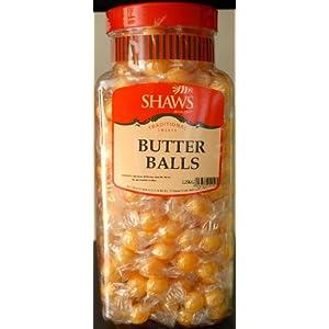 wj shaws butter balls 2kg jar old sweet shop style WJ Shaws BUTTER BALLS 2KG JAR Old Sweet Shop Style 41gGK2Af4VL