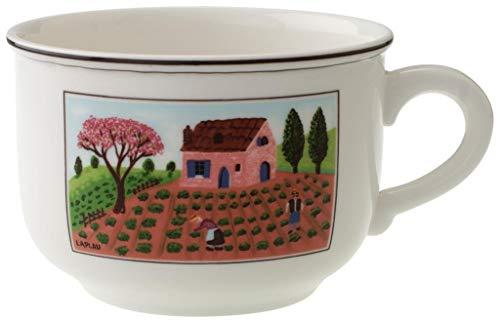 Villeroy & Boch Design Naif Tazza, 420 ml, Altezza: 7.3 cm, Porcellana Premium, Multicolore