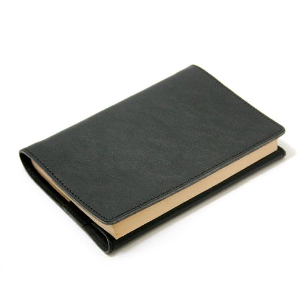 変わる増加する懐疑的DUCT イタリアンレザー ブックカバー 文庫本サイズ SVV-400 (ブラック)
