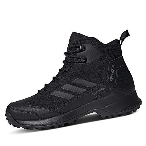 adidas Herren Terrex Heron Mid CW CP Trekking-& Wanderstiefel, Schwarz (Negbás/Negbás/Gricua 0), 46 EU