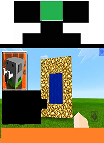 HOW to Make a Portal to NETHER, HEAVEN and END in Craftsman- Building Craft!!! (English Edition)