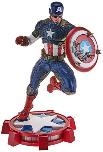 Diamond Select Toys- Diamond Captain Estatua Capitán América, Multicolor, Talla única (AUG172640)