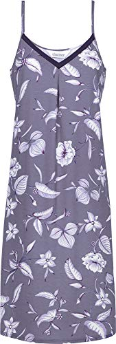 Charmor Damen-Nachthemd Feininterlock-Jersey lila Größe 36
