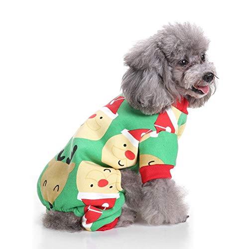 qiangdedianzishang Haustier-Kostüm für Hunde und Katzen, für Halloween, für kleine Haustiere, Kürbis