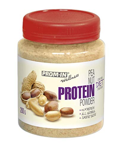 Natural Peanut Protein Powder by PROM-IN for Your Diet Strategy (200 g)
