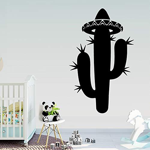 Arte Cactus etiqueta de la pared de la habitación de los niños guardería decoración de la habitación de vinilo etiqueta de la pared Mural A7 L 43cmx69cm