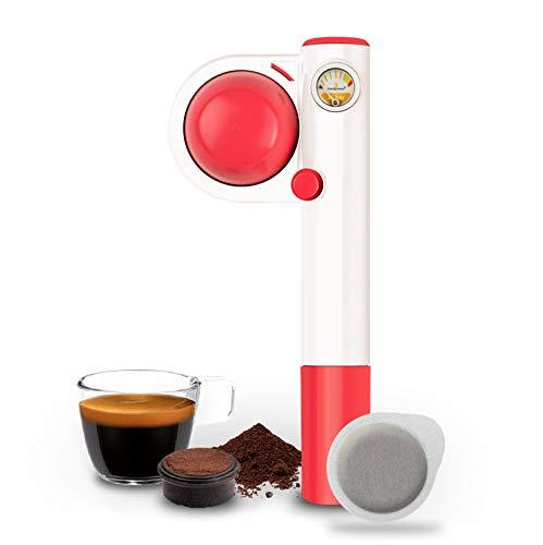 Handpresso Pump Pop for ESE Pods and Ground Coffee, Pink