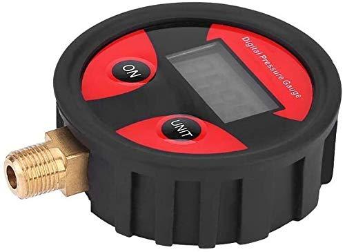QFL Neumáticos Manómetro Digital, 0-200PSI neumático del LCD Digital de Aire del neumático calibrador de la presión del Metro for el Carro del Coche de la Motocicleta Seguro de Calidad