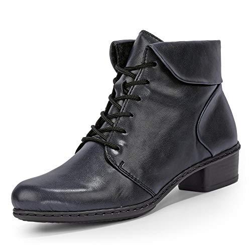 Rieker Damen Y0711 Kurzschaft Stiefel, Blau (Navy 14), 40 EU