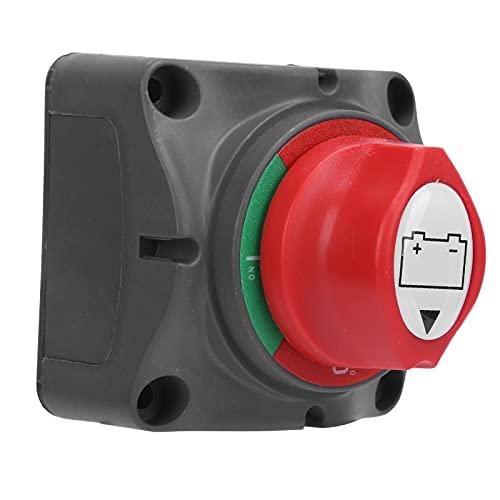 FOLOSAFENAR Desconexión de batería On Off, Interruptor aislador de batería fácil de Instalar para Coche