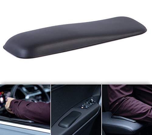 Gel-Buddy elbow Die Armlehne für die Fahrt - Das Original für Auto LKW Bus und Sprinter, Farbe:schwarz, Größe:15 x 5cm