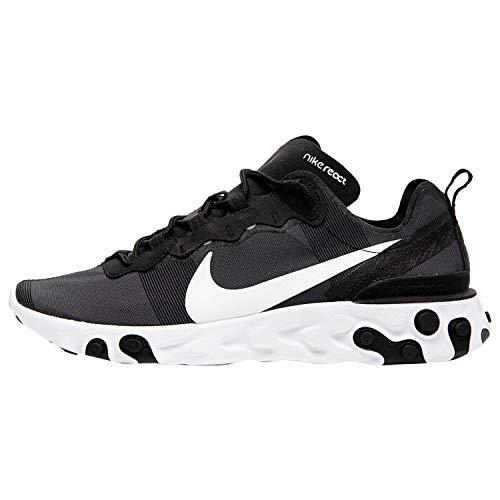 Nike React Element 55Chaussures de course pour homme - Noir - Noir , 45 EU