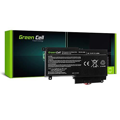 Green Cell® PA5107U-1BRS Batería para Toshiba Satellite L50-A L50D-A L50t-A P50-A P50t-A P50-B S50-A S50D-A S50t-A Ordenador (2800mAh 14.4V Negro)