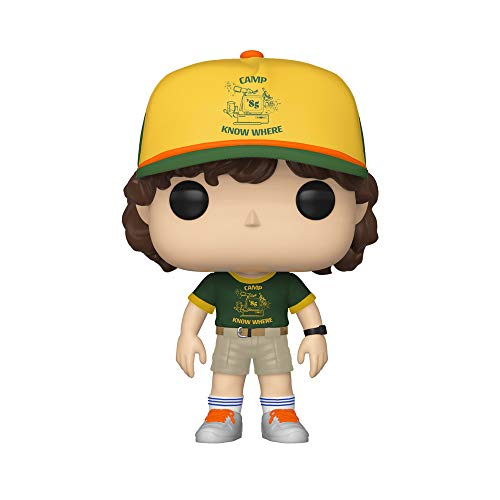 Funko - Pop! Vinyl: Stranger Things - Dustin (At Camp) Figura De Vinil, Multicolor (38532)