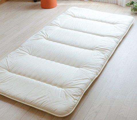 Tradicional japonés Emoor colchón futón 6 pliegues (individual) hecho en Japón