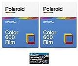 Polaroid Originals - Película de color para cámara instantánea 600 e i-Type - Color Frames Edition - Paquete de 2 (16 fotos)