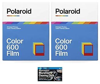 Polaroid Originals Color Film for 600 and i-Type Instant Camera - Color Frames Edition - 2 Pack  16 Photos