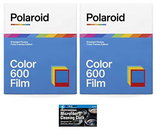 Polaroid Originals Color Film for 600 and i-Type Instant Camera - Color Frames Edition - 2 Pack (16 Photos)