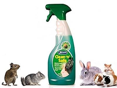 Johnson's Small Pet Clean N Safe Disinfectant Deodorizer Kills Bacteria Viruses 500ml bottle by John-sons
