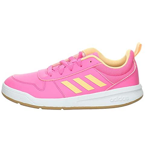 adidas TENSAUR K, Scarpe da Running Unisex-Adulto, Rosa, Arancione, Bianco (Roschi Naraci Ftwbla), 39 1/3 EU