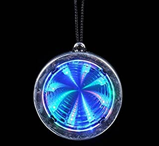 Flashing Panda Lot of 12 LED Flashing Multi-Color Infinity Tunnel Necklaces