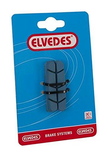Elvedes 1 Paire Patin Frein Route Remplacement 55mm pour Jantes Carbon Campagnolo Vélo/Cycle/VAE/E-Bike Adulte Unisexe, Multicolore