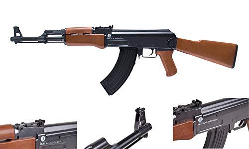 Eva Shop® Premium Softair Vollmetall Pistolen Gewehre Colt Walther Heckler & Koch Beretta BGS Elite Force Combat Zone UVM. Airsoft Kugeln Munition Premium Qualität aus Deutschland (GSG AK47)