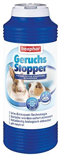 Geruchsstopper für Nagerheime | Befreit Nagerheim & Umgebung von unangenehmen Gerüchen | pH neutral | 600 g