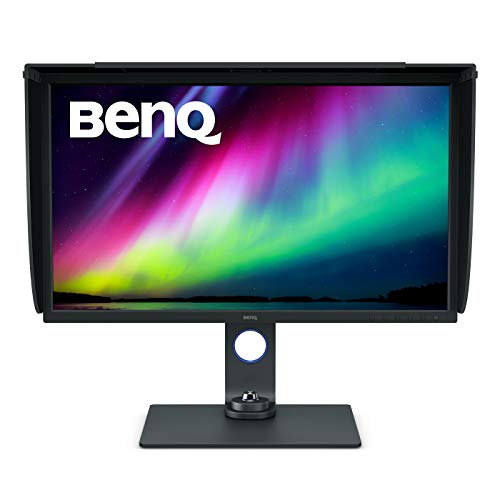 "Benq PhotoVue SW321C - Monitor para Fotógrafos de 32"", UHD 4K, IPS, 99% AdobeRGB, HDR, Gris"