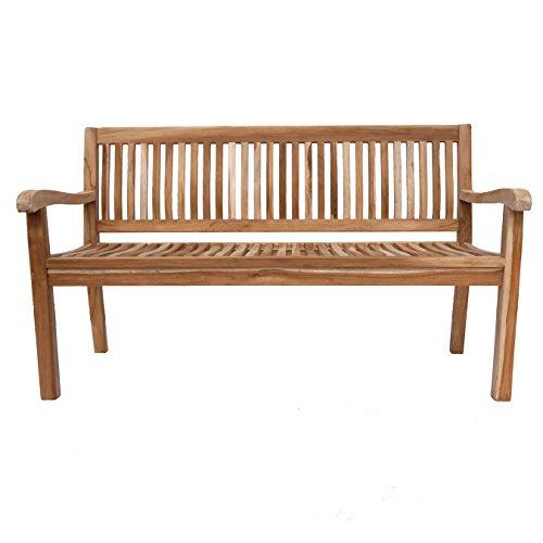 SAM Gartenbank, Kingsbury 150 cm 3-Sitzer, teak, 150x65x88 cm, 53262632