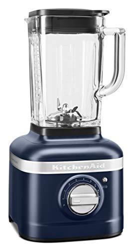 KitchenAid 5KSB4026 Artisan K400 - Batidora de vaso (1200 W, 1,4 L), color azul
