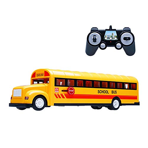 Kinderen Remote Control Bus Toy Auto Bus Elektrische Auto Draadloze Toy Rc Auto Grote Auto Model Bus Stunt Speelgoed Auto Boys And Gifts Kids Toy