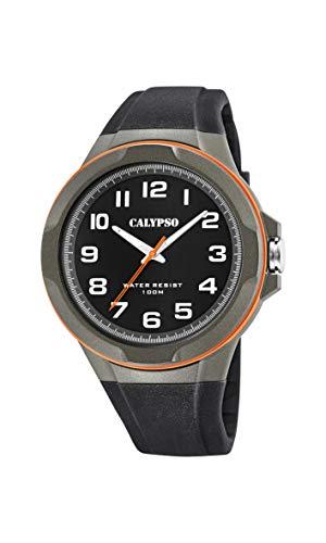 Calypso Watches Reloj Analógico para Hombre de Cuarzo con Correa en Plástico K5781/4