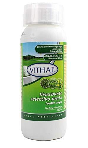 Vithal VITAHAL DISERBANTE SELETTIVO Prato Foglia Larga TURFENE Plus PFnPE 500 ML