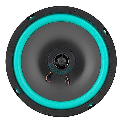 EBTOOLS Altavoce 6.5 Ruidosos del Audio de la Música de la Puerta del Vehículo del Altavoz Estupendo del Poder más Ligero del Tweeter del Coche de Pulgadas 1 Pieza