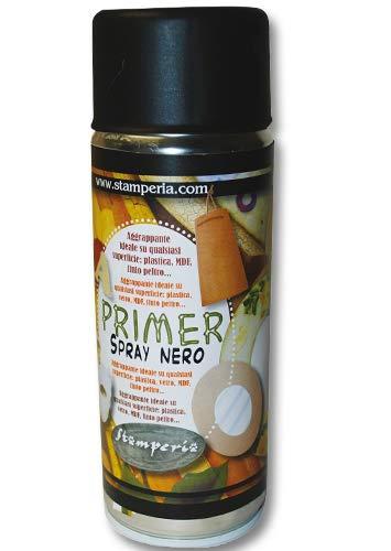 Stamperia Primer aggrappante Spray Nero 150 ml