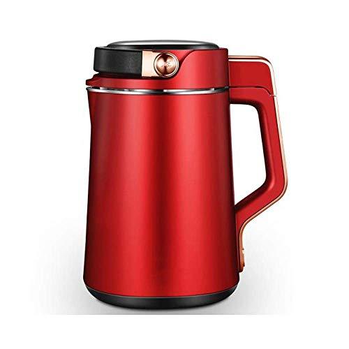BGSFF Haushalts SOYA-Bohnenmilchmaschine Doppelte Reservierung 1.3L Home Sojamilchhersteller Saft kann Zellwand gebrochen