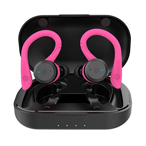 APEKX Bluetooth Headphones True Wireless Earbuds with Charging Case IPX7...