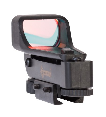 Crosman 0290RD Wide View Red Dot Sight For Airguns With 3/8-Inch Dovetail Mount