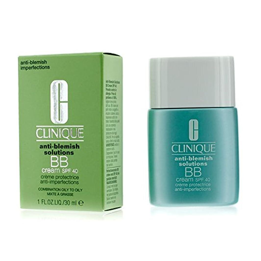 市民権非常にクリニーク Anti-Blemish Solutions BB Cream SPF 40 - Light Medium (Combination Oily to Oily) 30ml/1oz並行輸入品