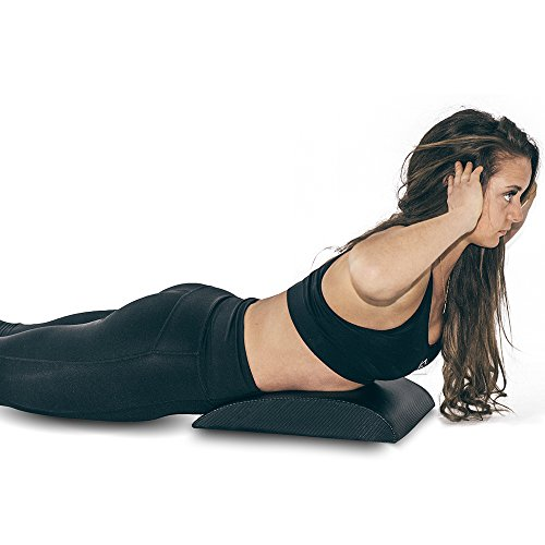 Iron Bull Strength Abdominal Mat for Full Range of Motion Crunches - Exercise Ab Mat - Sit Up Support Pad - Abdominal Trainer