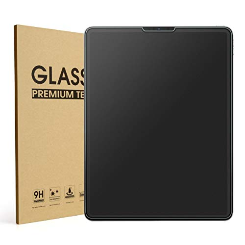 Mothca Matte Screen Protector for iPad Pro 11 inch 2018, Anti-Glare & Anti-Fingerprint No Dazzling 9H Hardness HD Tempered Glass Shield Film for iPad Pro 11', Smooth as Silk Amazing Touch